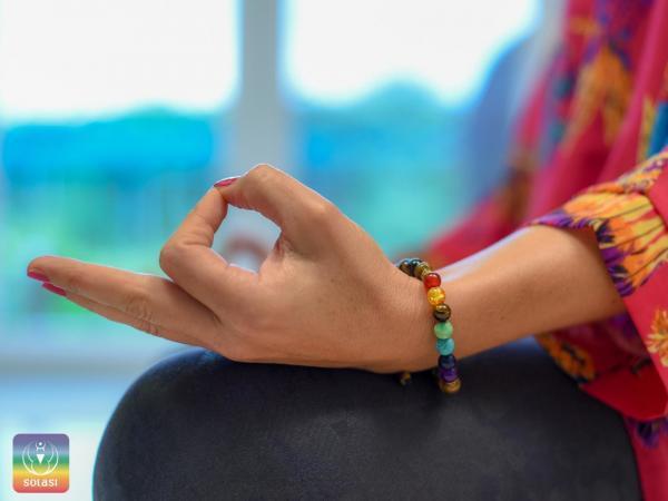 Čakra zapestnica za povečanje intuicije in sreče