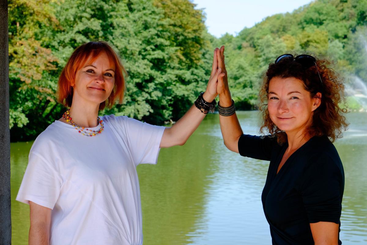 delovna sreča, Petra Božič Blagajac and Maja Lončar