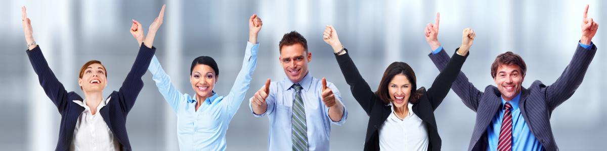 srečni na delovnem mestu