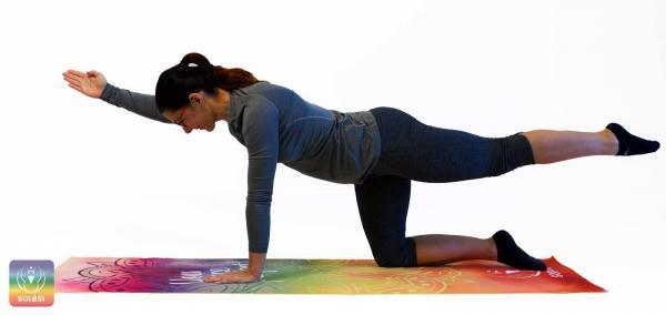 joga brisača, yoga towel