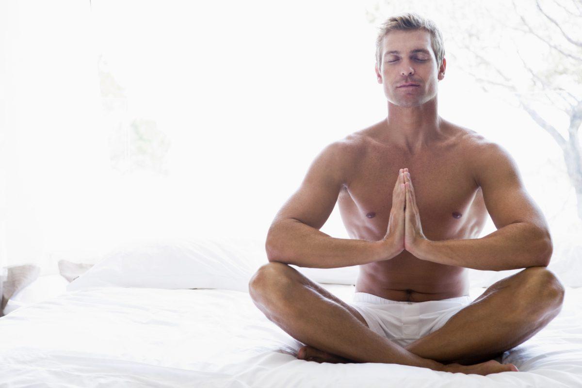 telo med meditacijo