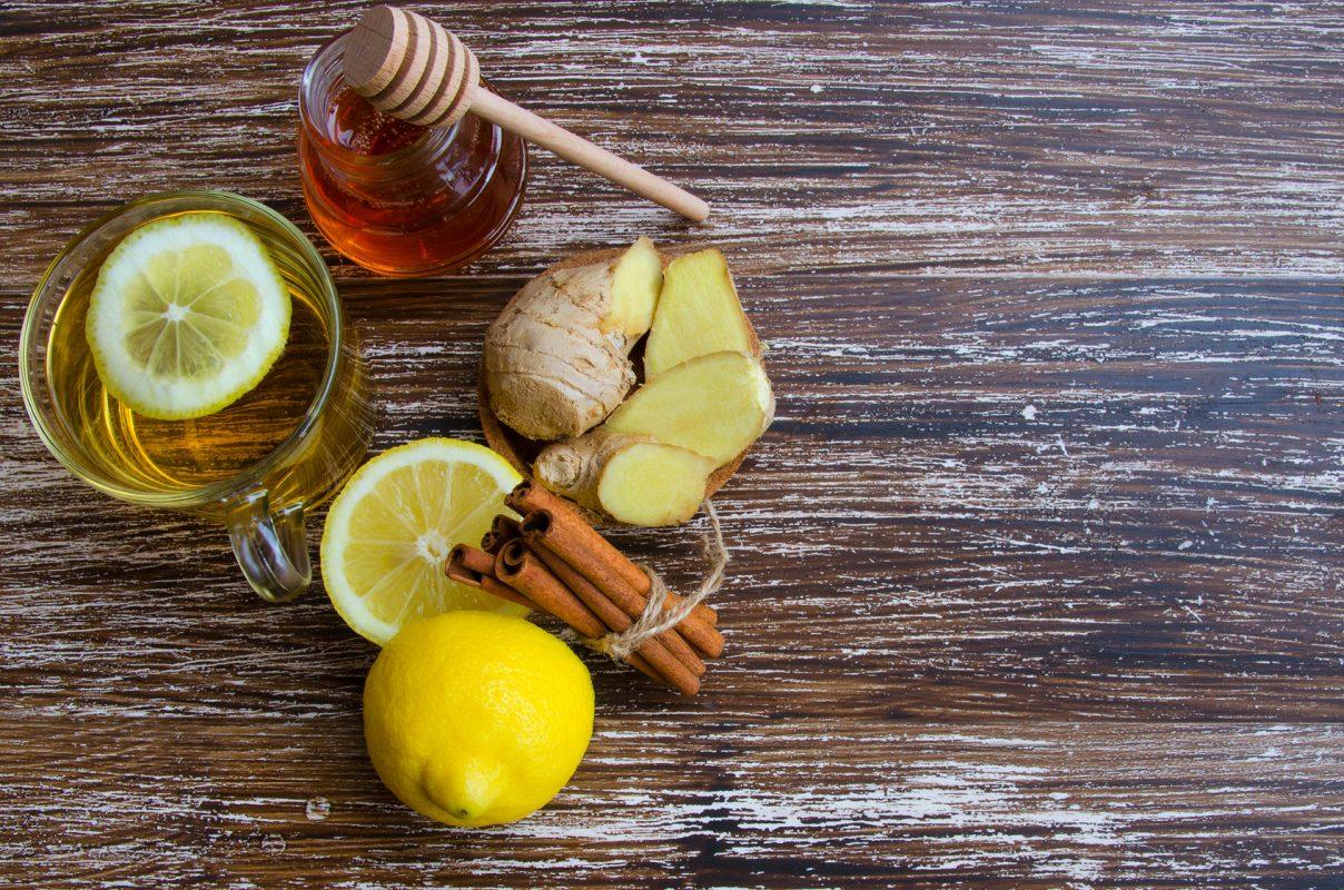 Zimski napitek z ingverjem